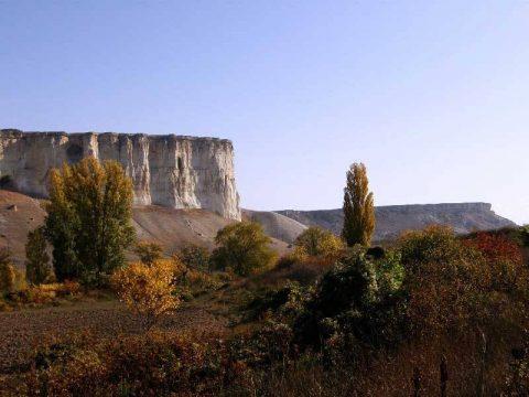 Crimea White Rock