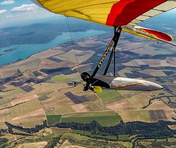Laragne hang gliding