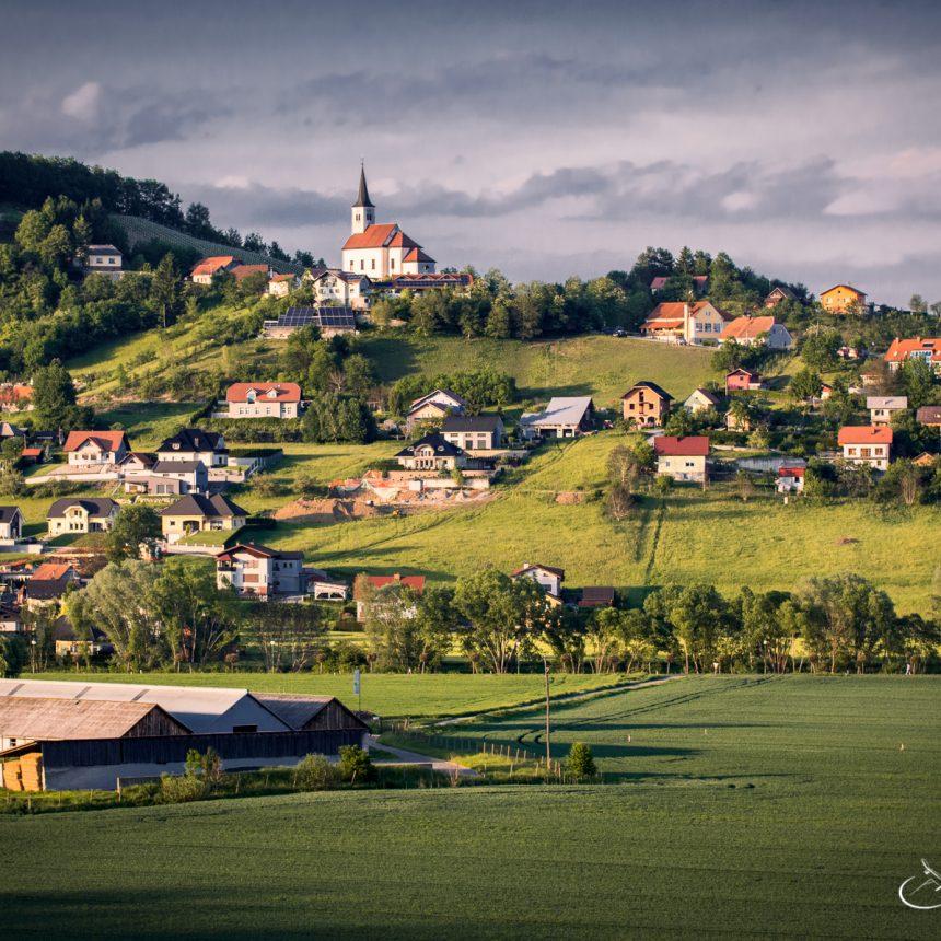 Sunset in Slovenia