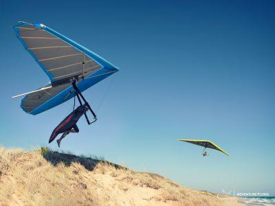 Hang Gliding games at 13th Beach