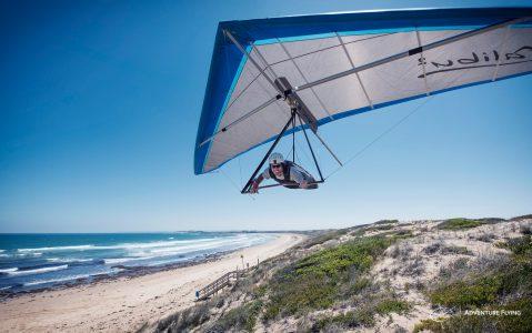 Lukas Bader Hang Gliding 13th Beach