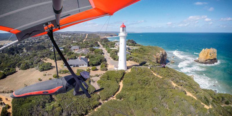 Hang Gliding Victoria Australia Split Point