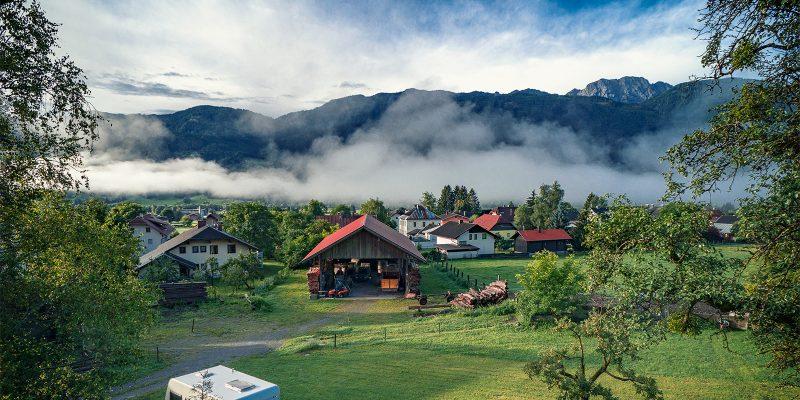 Morning inversion in Greifenburg