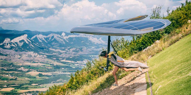 Hang Gliding Run