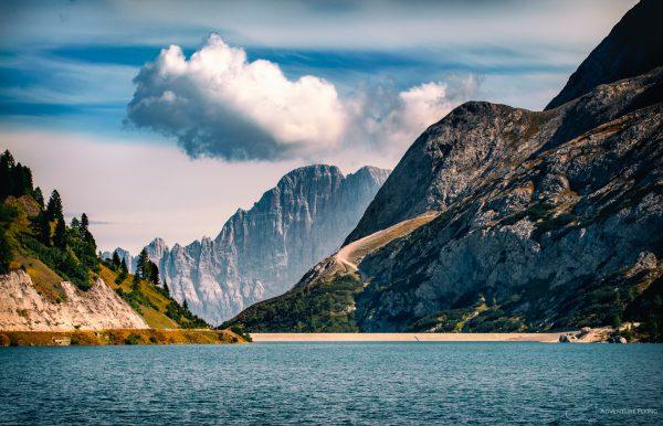 Dolomites Lago di Fedaia