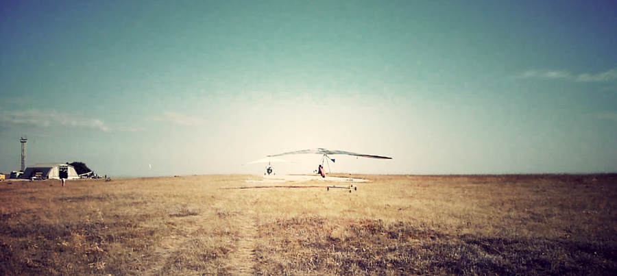 Aerotowing in Crimea in September
