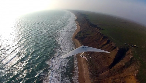 Crimea hang gliding