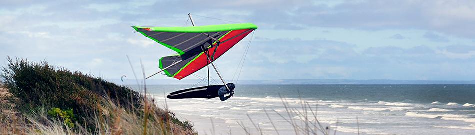 Coastal flying in Victoria