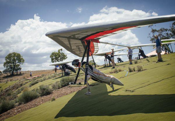 Takeoff Manilla Hang Gliding