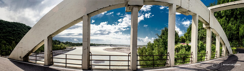 Bridge over Meduno river