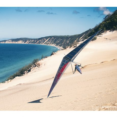 Jonny Durand at Rainbow Beach, Queensland