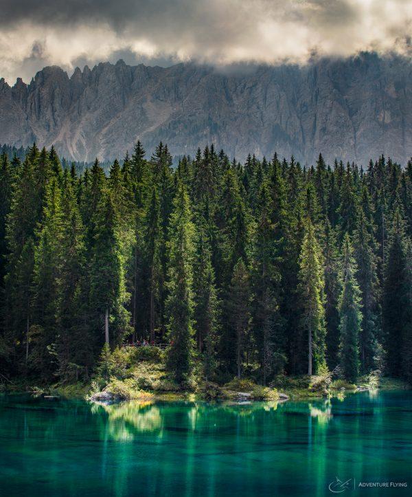 Dolomites Carezza Karrersee