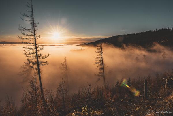 Schöckl im Nebel
